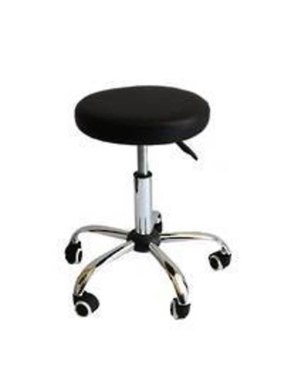 Height Adjustable Round Seated Stool