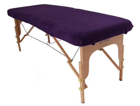 Massage Table with Cover Dark Purple -164