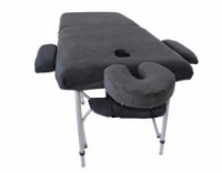 Massage Table with Covers Charcoal-121-710-136