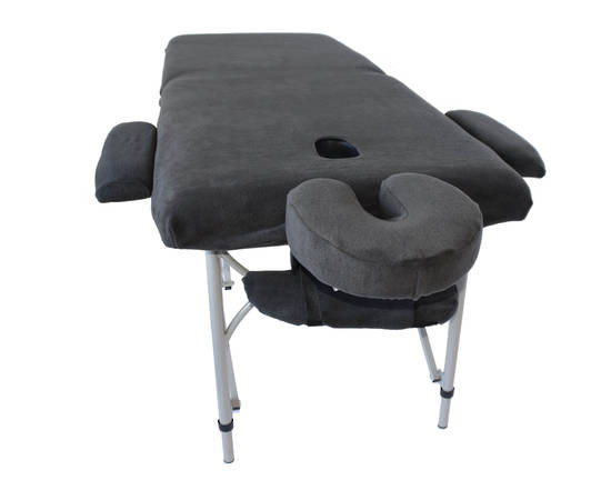 Massage Table with Covers Charcoal-121