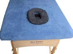 Massage table with face cushion and cover-872