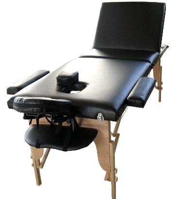 Adjustable backrest on Wooden Beauty Therapy Table JTWB3 model
